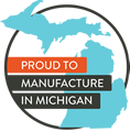 Proud to Manufacturer in Michigan